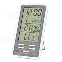 Термоиетр-гигрометр с выносным датчиком TS KT 802      .  dr