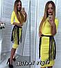 Макси платье с крутым поясом, фото 2