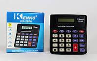 Калькулятор KK 268 A, настольный электронный калькулятор, калькулятор компактный 8 разрядный