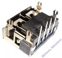 USB разъем (гнездо) для ноутбука USB-003, фото 1