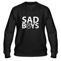 Свитшот мужской черный Sad boys