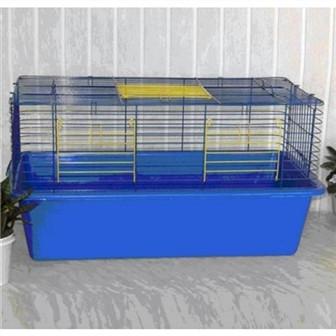 СТ Кролик-80 клетка цинк 80х45х45см