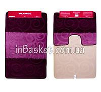 """Комплект ковриков для ванной """"Purple Snail"""""""