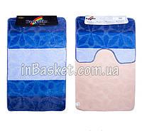 """Комплект ковриков для ванной """"Aquamarine flower"""""""