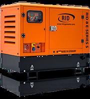 Дизель-генератор RID 8 E-Series 6,4-7 кВт двигатель Mitsubishi