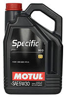 Масло моторное Motul Specific 913D 5W-30 5л