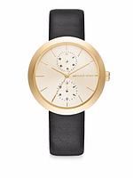 Часы Michael Kors Garner Gold-Tone And Leather MK2574