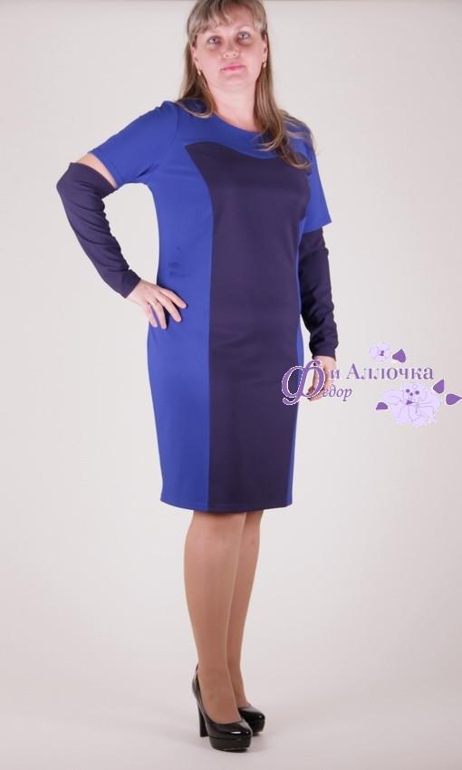 Платье миди(100см)1102-108/1  батал от производителя оптом