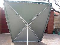 Зонт торговый 3x3м с клапаном