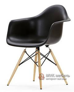 """Кресло """"Тауэр Вуд"""" черное"""