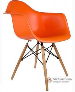 """Кресло """"Тауэр Вуд"""" оранжевое"""