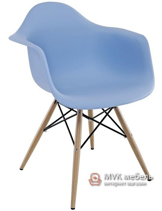"""Кресло """"Тауэр Вуд"""" голубое"""