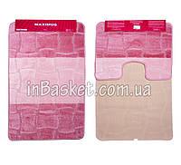 """Комплект ковриков для ванной """"Pink horizon"""""""