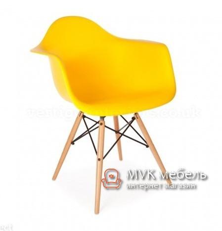 "Кресло ""Тауэр Вуд"" желтое"