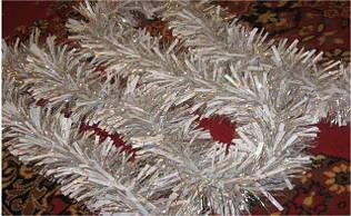 Мішура лепестково-пухнаста