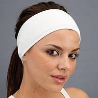 Косметическая повязка для волос на липучке