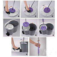 Швабра Magic Mop telescopic rotating