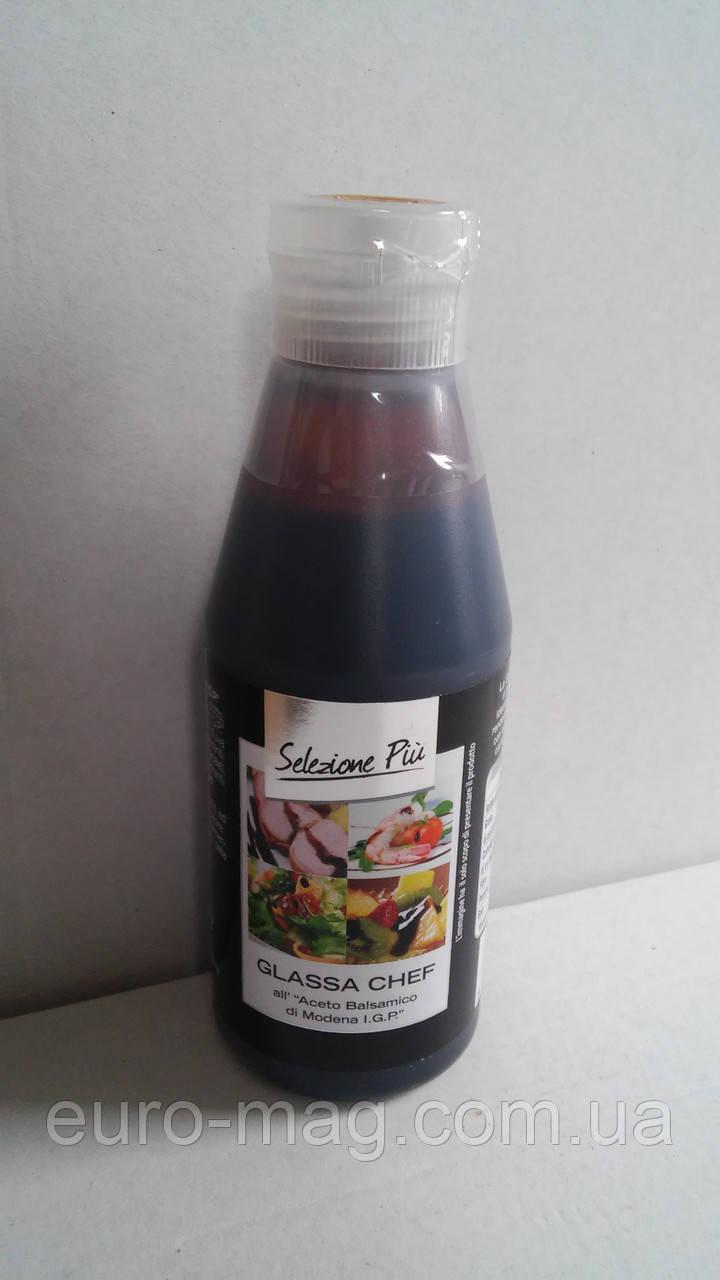 Бальзамический соус Glassa Chef Selezione Piu 215 мл