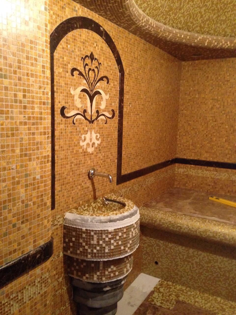 Облицовка Мозаикой (бани,сауны,бассейны) занимаемся строительством коттеджей и частных домов.