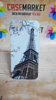 Пластиковый бампер чехол для iPhone 5/5S с рисунком Эйфелева башня