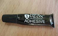 Чёрный клей для ресниц в упаковке SALON Professional(в)