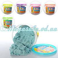 Кинетический песок для творчества 0832, 6 цветов: 1000 грамм