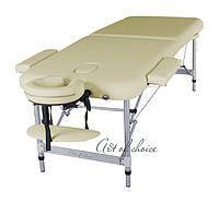 Двухсекционный алюминиевый массажный стол BOY