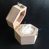 Шкатулка деревянная creout с декором