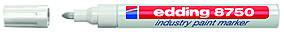 Универсальный лаковый маркер Edding Industry Paint e-8750 2-4 мм, белый 1454