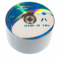 Диски Videx Mamba DVD-R 4.7Gb 16x bulk 50
