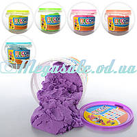 Кинетический песок для творчества 0831, 6 цветов: 800 грамм