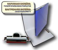 Папка с прижимом CLIPBOARD 25мм А5 PP покрытие