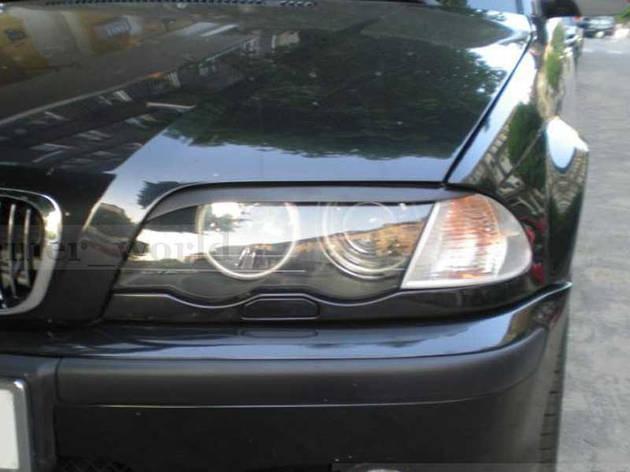 Реснички на фары BMW 3 E46, фото 2