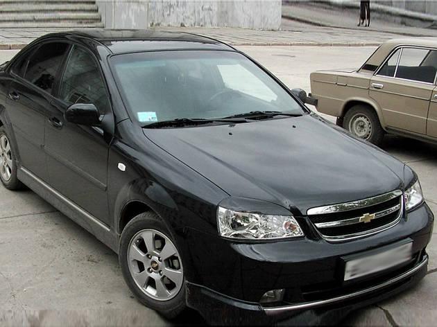 "Реснички на фары Chevrolet Lacetti sedan ""Широкие"", фото 2"
