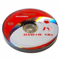 Диски Videx Mamba DVD+R 4.7Gb 16x bulk 10