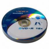 Диски Videx Mamba DVD-R 4.7Gb 16x bulk 10