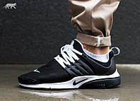 Мужские крассовки Nike Presto Black/White