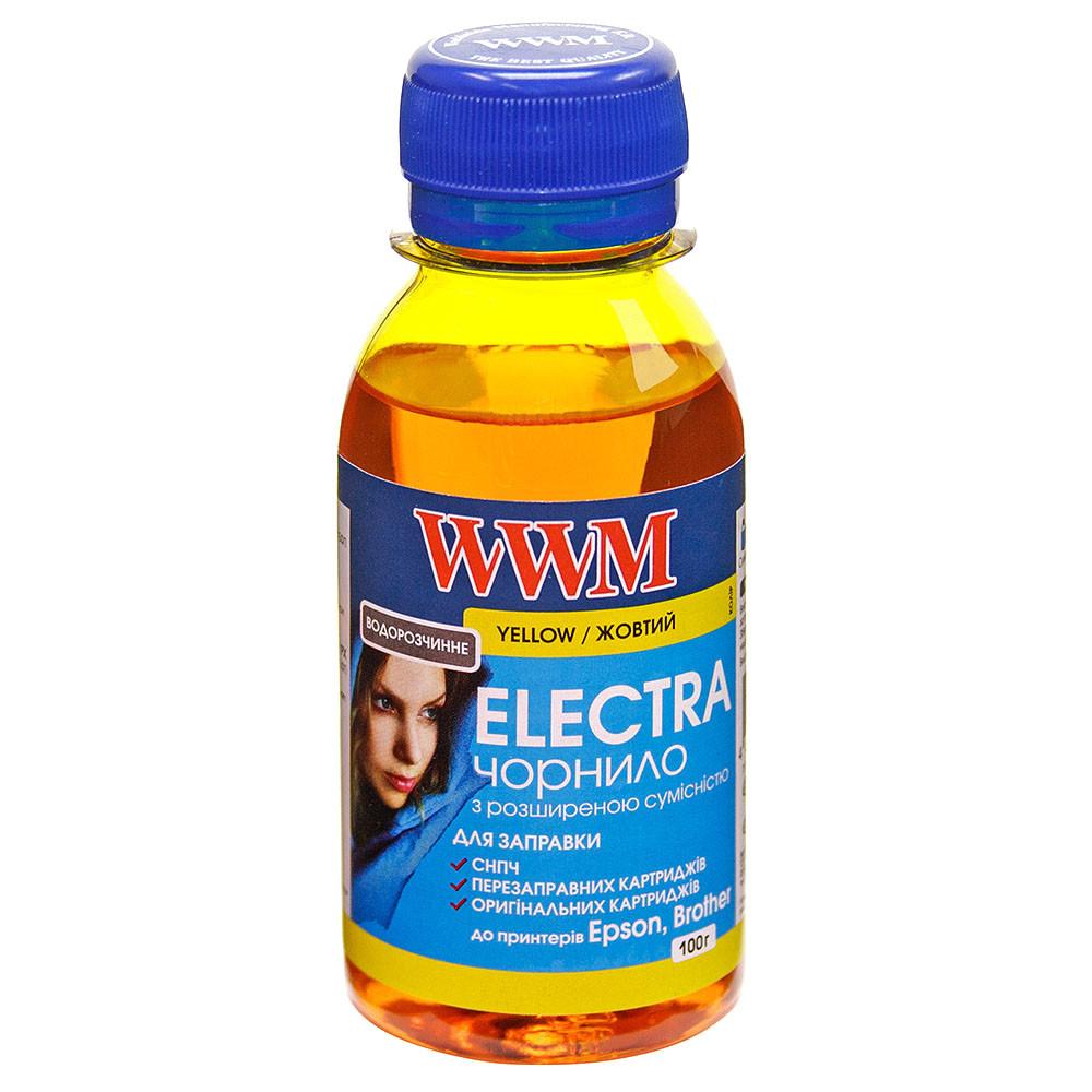 Чернила WWM ELECTRA для Epson 100г Yellow Водорастворимые (EU/Y-2) с расширенной совместимостью