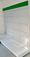 Перфорированные стеллажи бу Модерн-Экспо подиум 600 мм., фото 1
