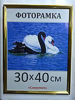 Фоторамка ,пластиковая, 30*40, рамка, для фото, дипломов, сертификатов, грамот, картин, 1415-47, фото 1