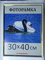 Фоторамка ,пластиковая, 30*40, рамка, для фото, дипломов, сертификатов, грамот, картин,1415-54