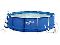 Каркасный бассейн с песочным фильтром. Артикул: 56259. Эксклюзивное предложение.