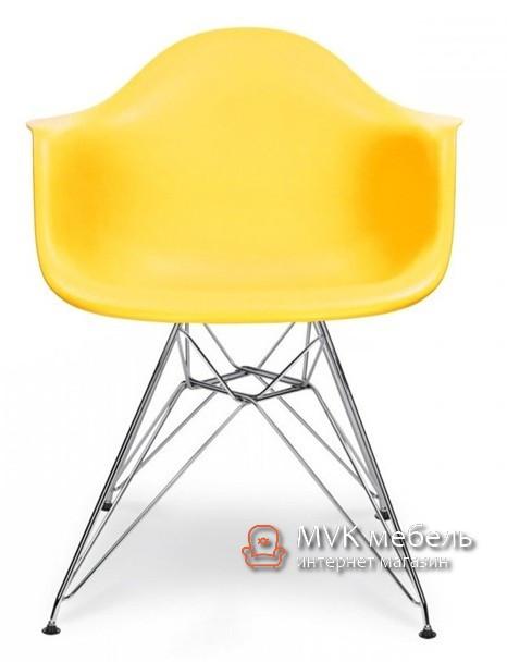 """Кресло """"Тауэр Хром"""" желтое"""