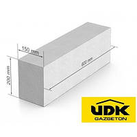 Газобетон UDK 600x200x150
