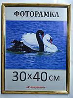 Фоторамка ,пластиковая, 30*40, рамка, для фото, дипломов, сертификатов, грамот, картин, 1415-94
