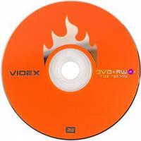 Диски Videx DVD+RW 4.7 Gb 4x bulk 10