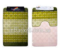 """Комплект ковриков для ванной """"Green variety"""""""