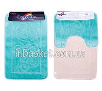 """Комплект ковриков для ванной """"Blue blossom"""""""