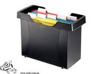 Картотека DONAU 7421001-01 для подвесных файлов черная пластик