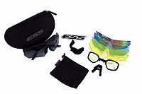 Тактические очки ESS Crossbow с 5 линзами и защитой UV400, фото 1
